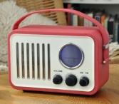 Win a Vintage Red Portable Clock Radio from Dotcomgiftshop - www.sixtyplusurfers.co.uk