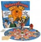 Win Wallace & Gromits Rocket Race an action packed board game from Esdevium Games - www.sixtyplusurfers.co.uk