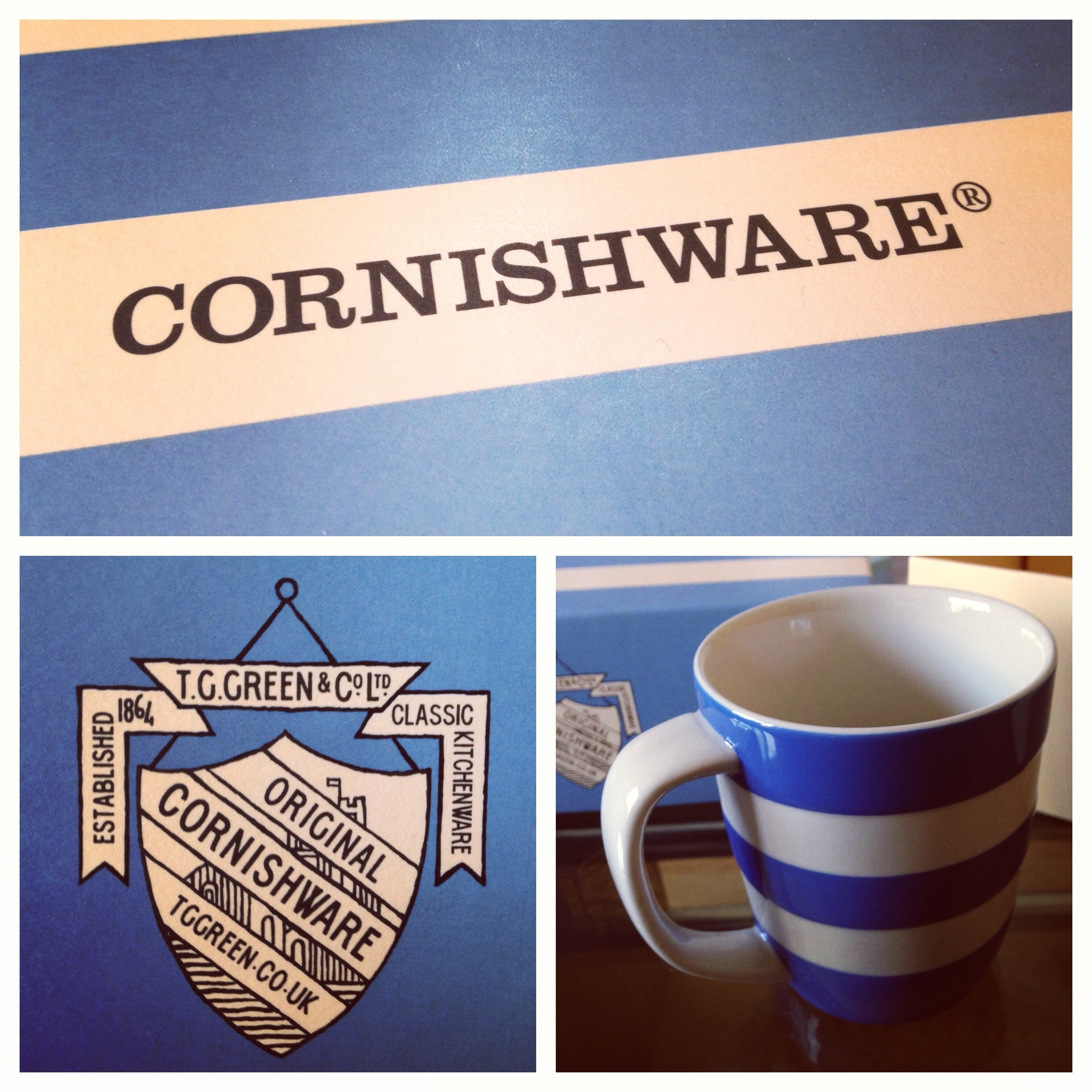 TG Green and Co. Cornishware Competition UK only - www.bakingbar.co.uk