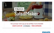 Promoci�n Philips Cocina Saludable SaladMaker - www.philips.com.ar