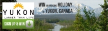 WIN an amazing holiday for 2 to Yukon Canada! - www.trekwear.co.uk