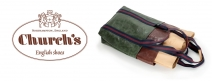 Win a leather Girth bag from Churchs - www.bicestervillage.com