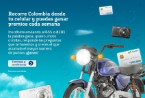 Concurso Recorre Colombia 2013 - www.movistar.co