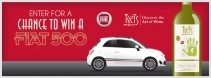 Enter to win a new FIAT 500 - kriswine.com
