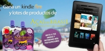 Consigue un KINDLE FIRE y lotes de productos de A�a� do Brasil - www.a�aidobrasil.com