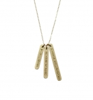 Enter to win A Lucky Bars Necklace from Nashelle - www.skinnyscoop.com