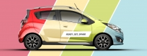 ENTER FOR A CHANCE TO WIN A BRAND-NEW CHEVROLET SPARK! - www.chevrolet.com