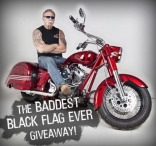 Win a Custom Chopper - www.blackflag.com