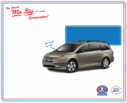 You could win a 2013 Honda Odyssey - honda.com